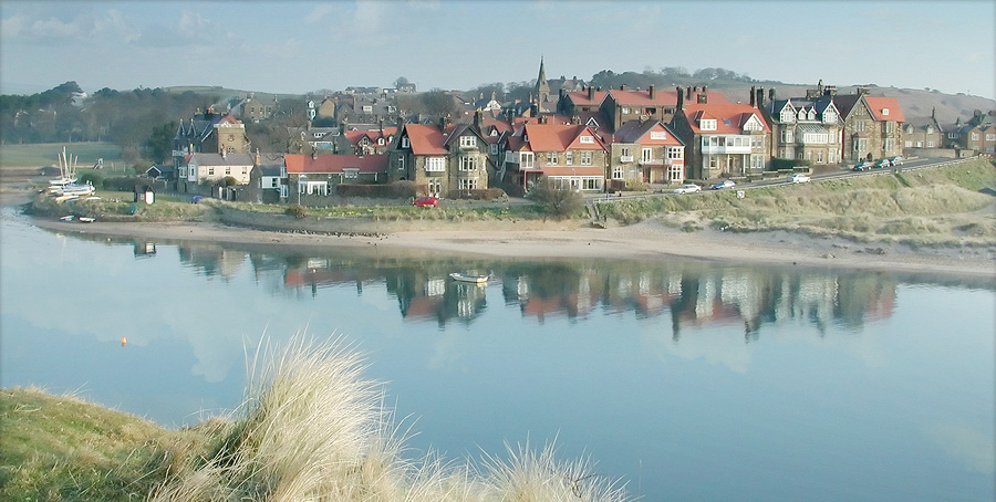 Alnmouth - A quaint seaside village which sits on the River Aln Estuary, our accommodation sits in the heart of the village