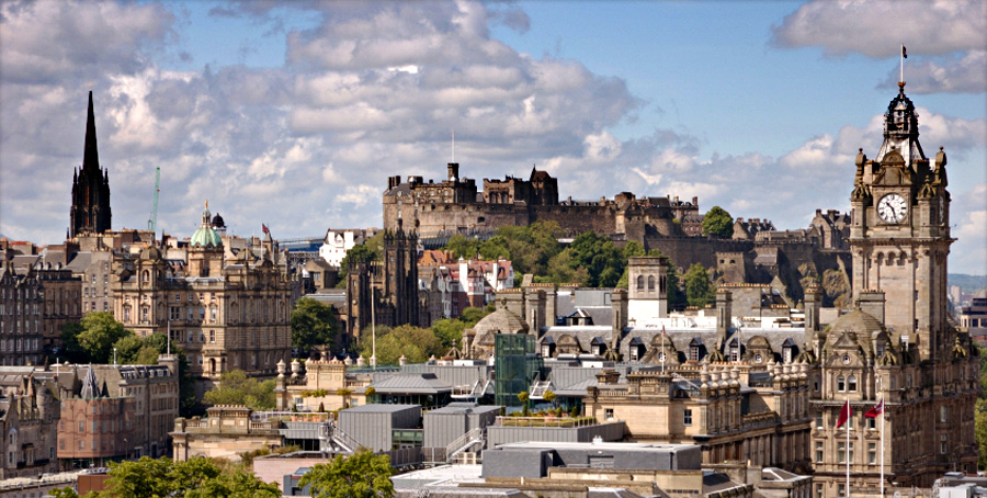 Edinburgh - Streets steeped in history and a thriving cultural scene, the City of Edinburgh offers the perfect balance between all things traditional and contemporary
