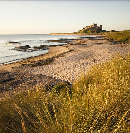 Bamburgh Beach and Castle are perfect destination for a day out