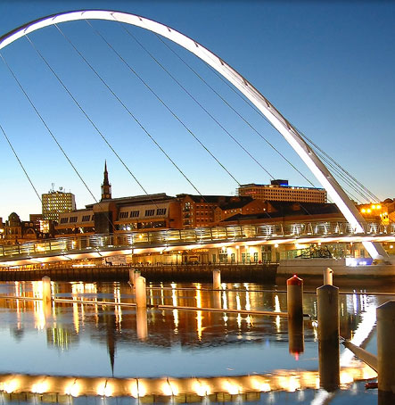 Fancy a days shopping in Newcastle Upon Tyne? Its only a hour away by car or train